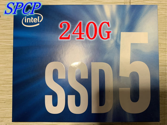 Intel® SSD 540S Series 240GB, 2.5in SATA 6Gb/s, 16nm,TLC,7.0mm,SSD,SATA,Solid state drive