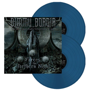 Forces of the Northern Night - Double Gatefold LP (Aqua Blue)