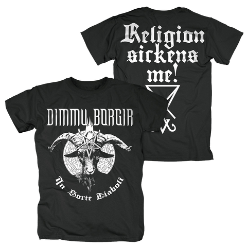 Religion Sickens Me! T-Shirt