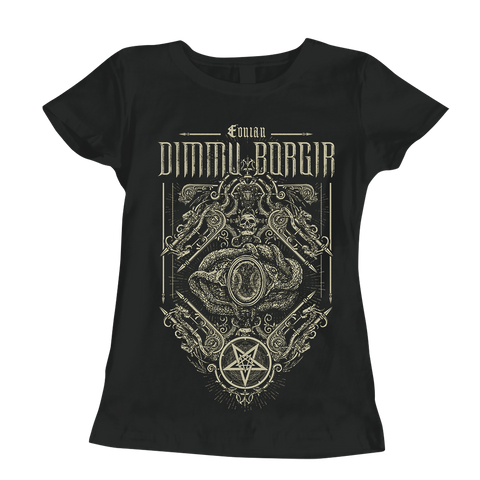 Eonian Snakes Ornament Ladies T-Shirt