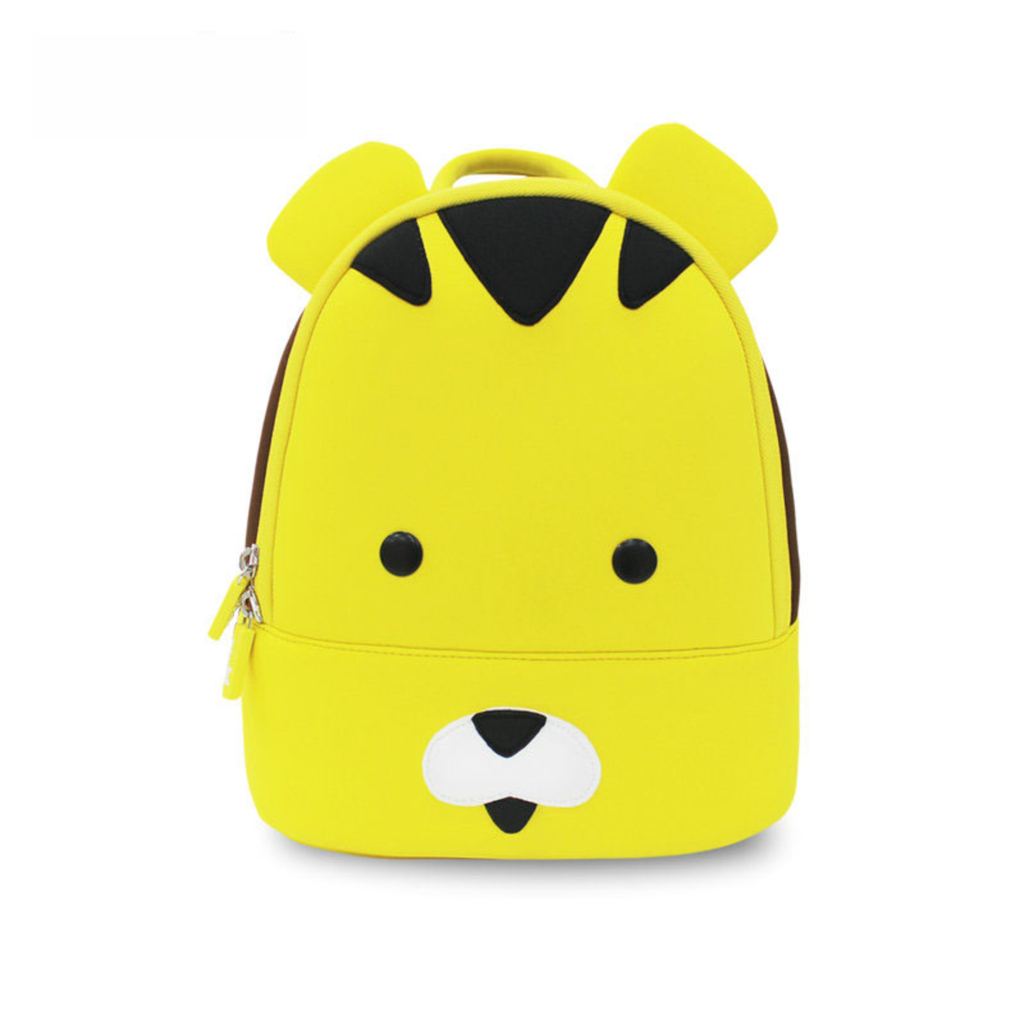 3D Tiger School Waterproof Backpacks