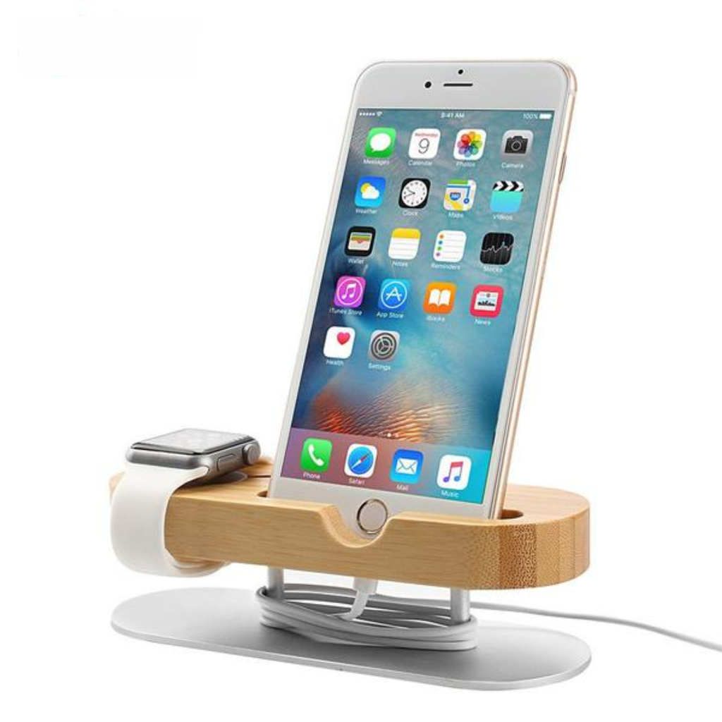 Phone Stand Charging Dock Aluminium Alloy Base