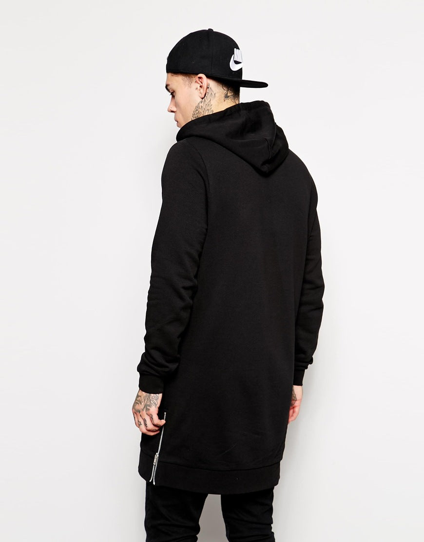 Streetwear Long Hoodies Men