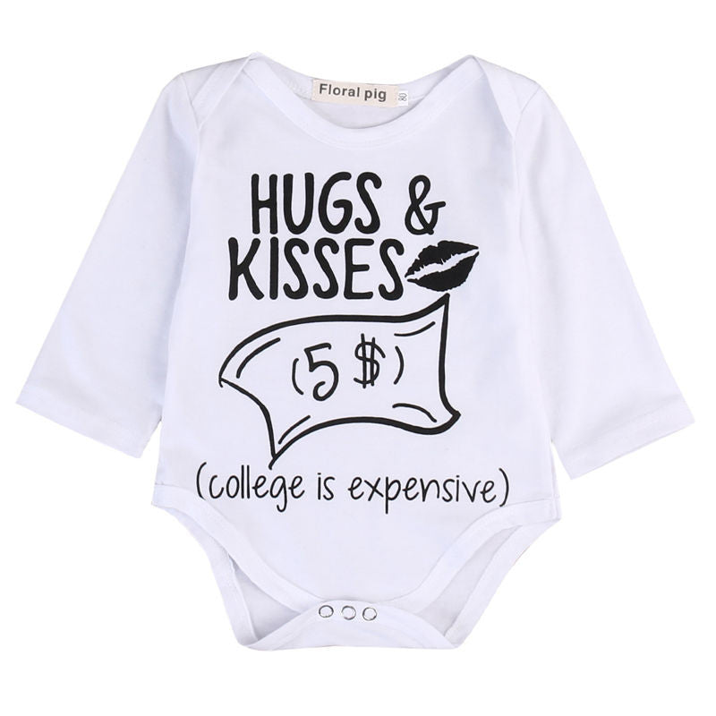 Hugs & Kisses 5$ One Piece for Babies
