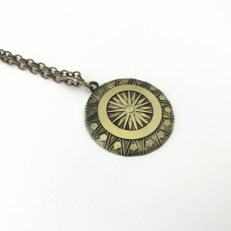 Wonder Woman Shield Necklace