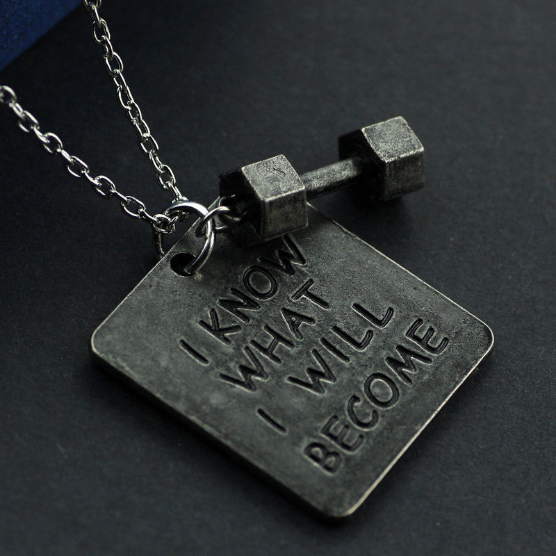 I KNOW WHAT I WILL BECOME Necklace