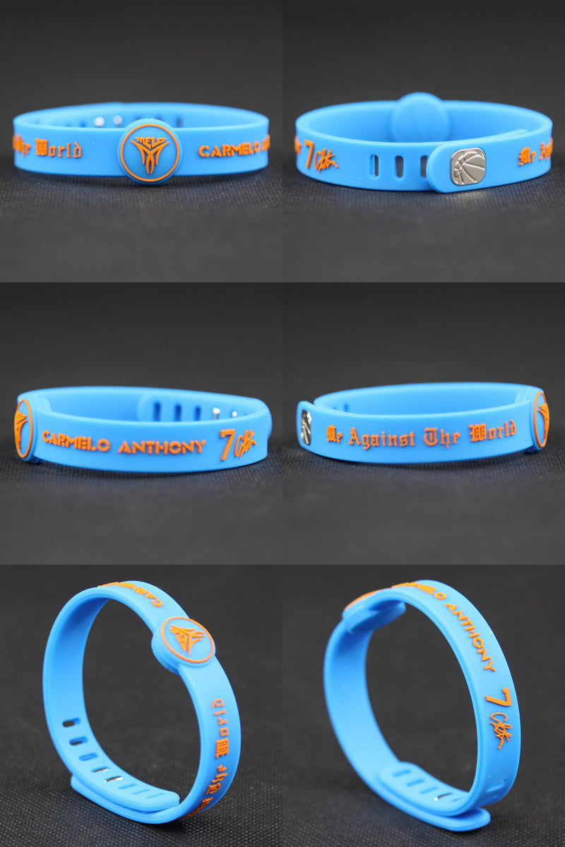 (New Arrival) Adjustable Carmelo Anthony Wristband