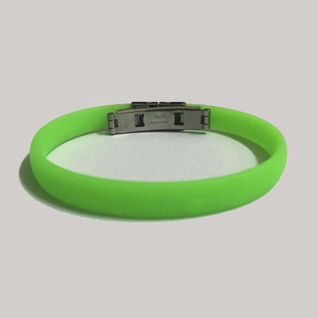 PRO Colorful Silicone Bracelets - HQ Stainless Steel