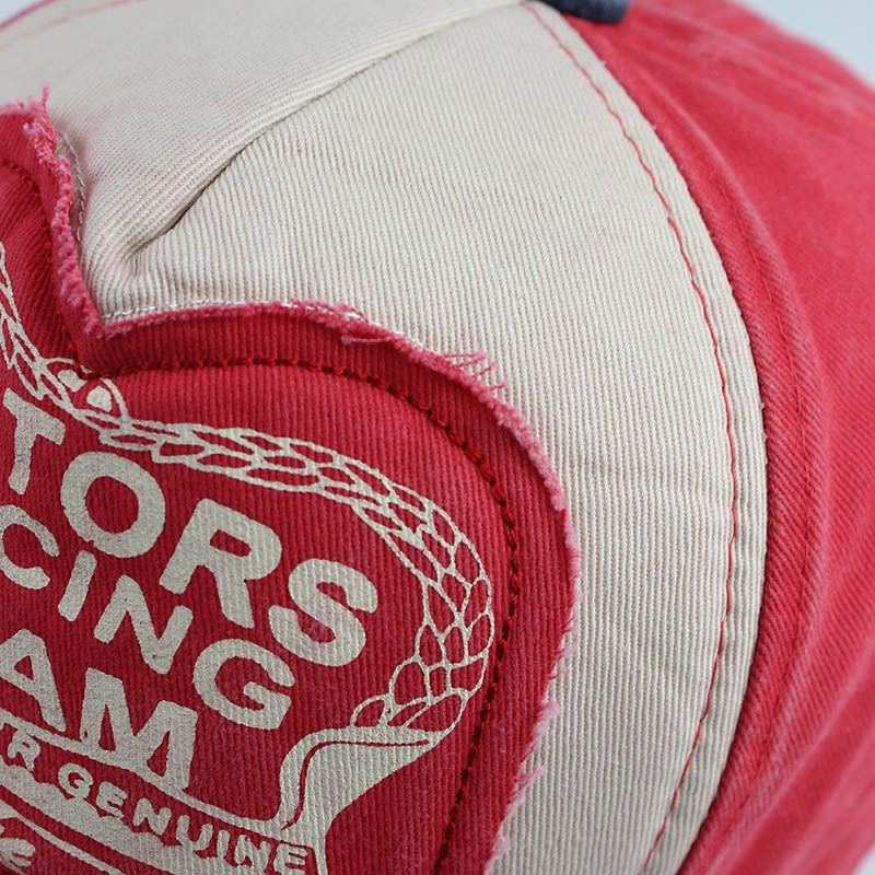 Motors Racing Team Embroidery Baseball Cap