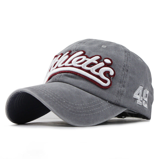 Athletic Embroidery Baseball Cap