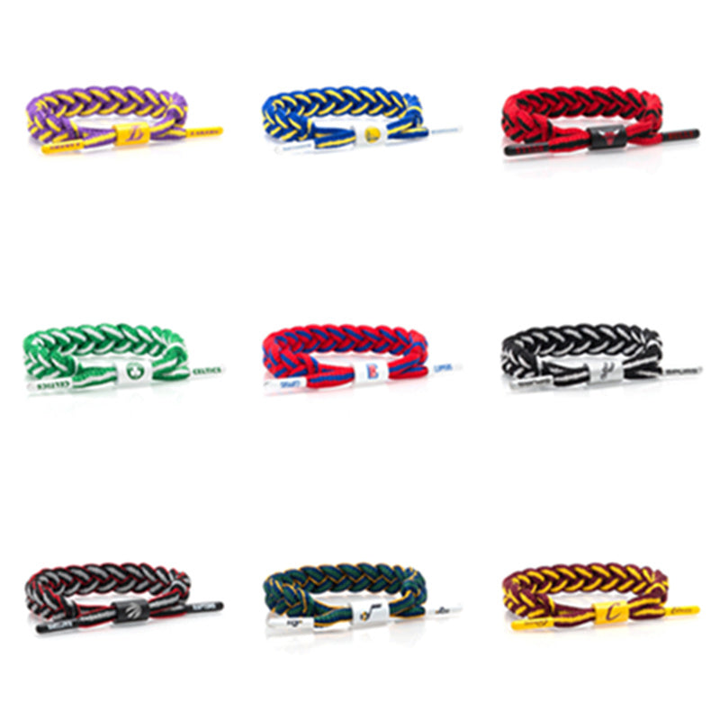 Basketball Shoelace Bracelet