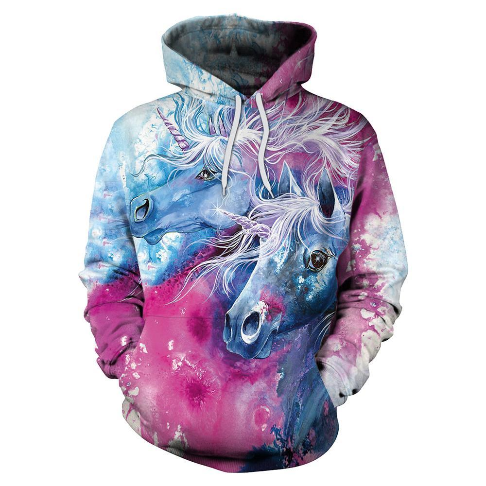 3D Unicorn Hoodie (New Arrival 2018)