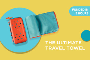 Super Portable Towel 2.0- A New Category of Towel