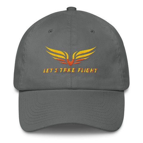 Let's Take Flight Dad Caps