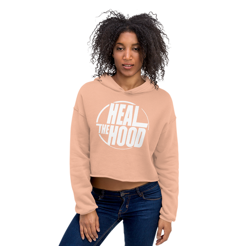 Heal the Hood - Crop Hoodie
