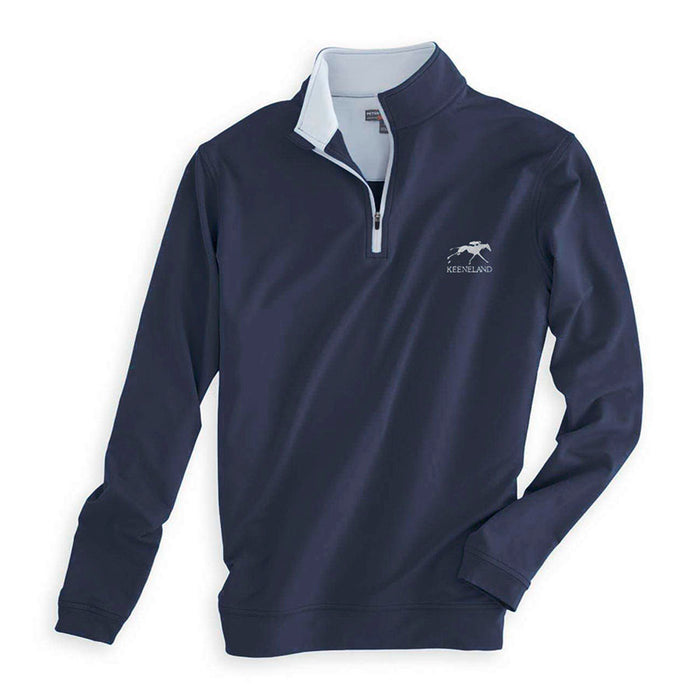 Peter Millar Keeneland Men's Perth Stretch 1/4 Zip