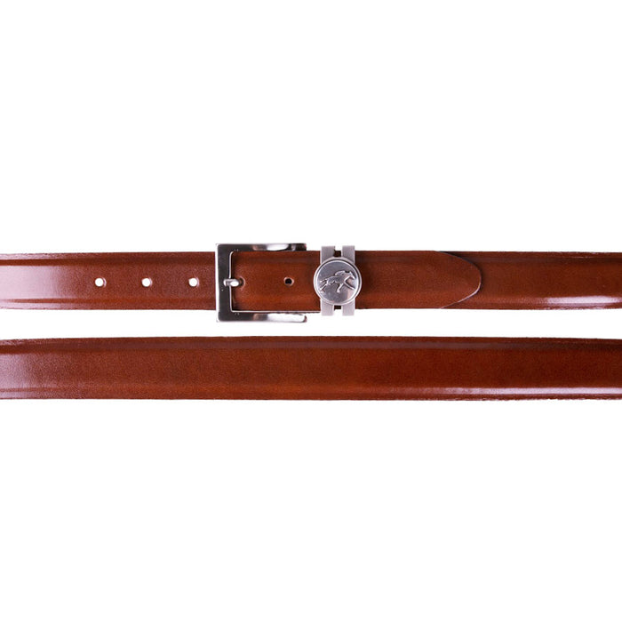 Keeneland Men's Leather Belt with Concho