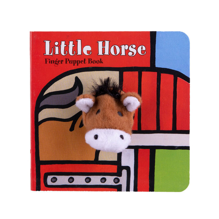 The Little Horse Finger Puppet Book