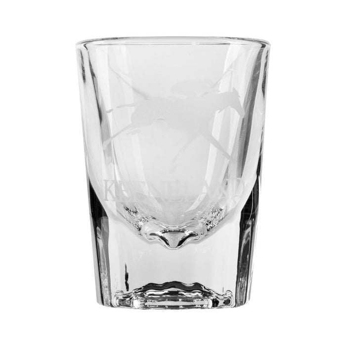 Keeneland Logo Fluted Shot Glass