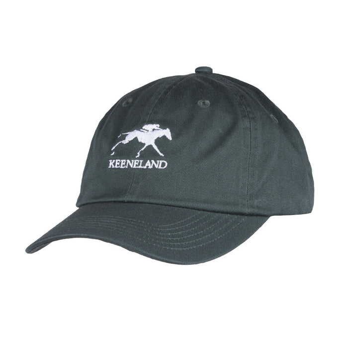 Keeneland Stacked Logo Cotton Twill Hat