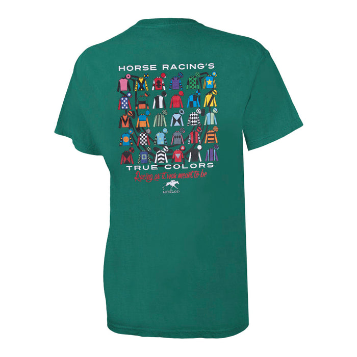 Ahead Keeneland Horse Racing True Colors Tee
