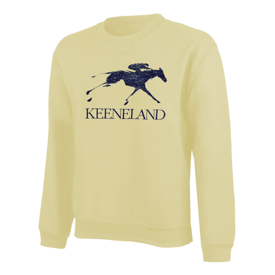 Keeneland Big Cotton Crewneck Sweatshirt