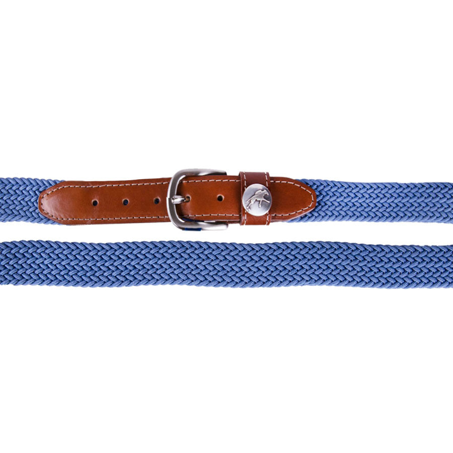 Keeneland Men's Braided Elastic Belt