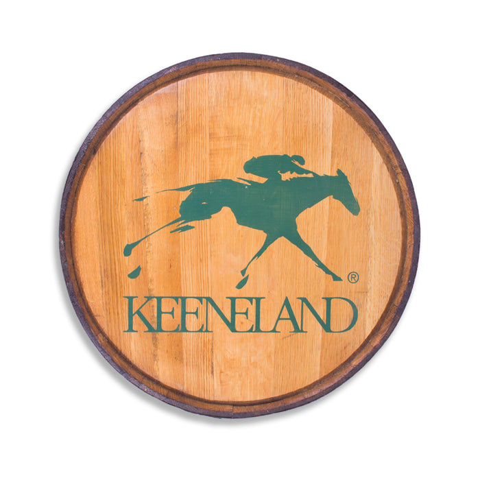 Keeneland Barrel Head with Metal Rim