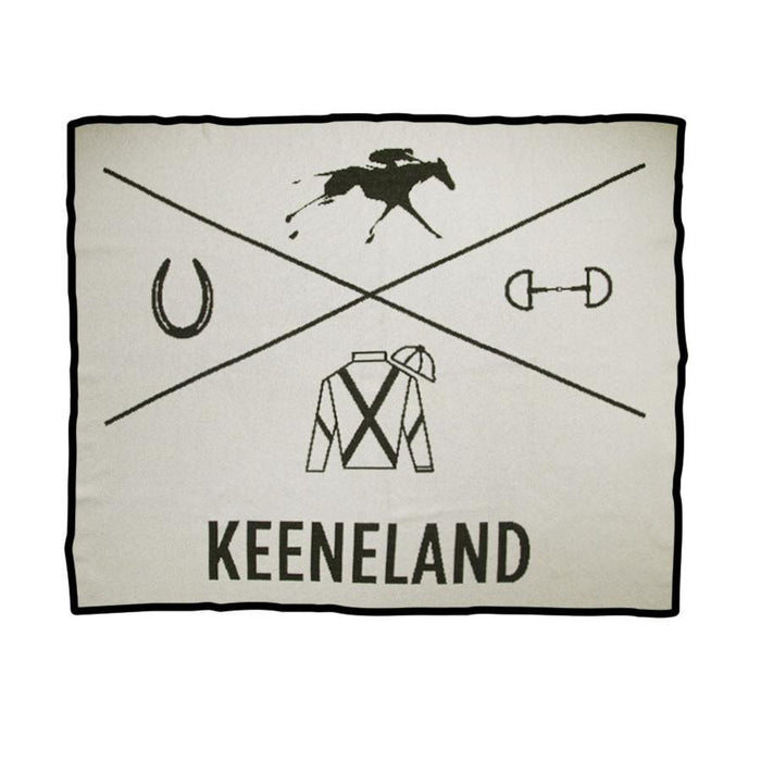 Keeneland Custom Throw