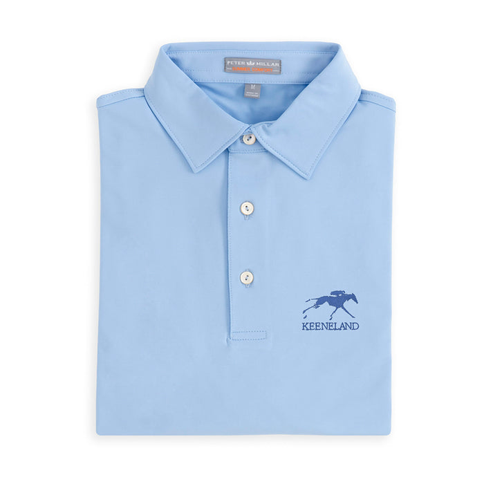 Peter Millar Keeneland Solid Stretch Jersey Sean Polo