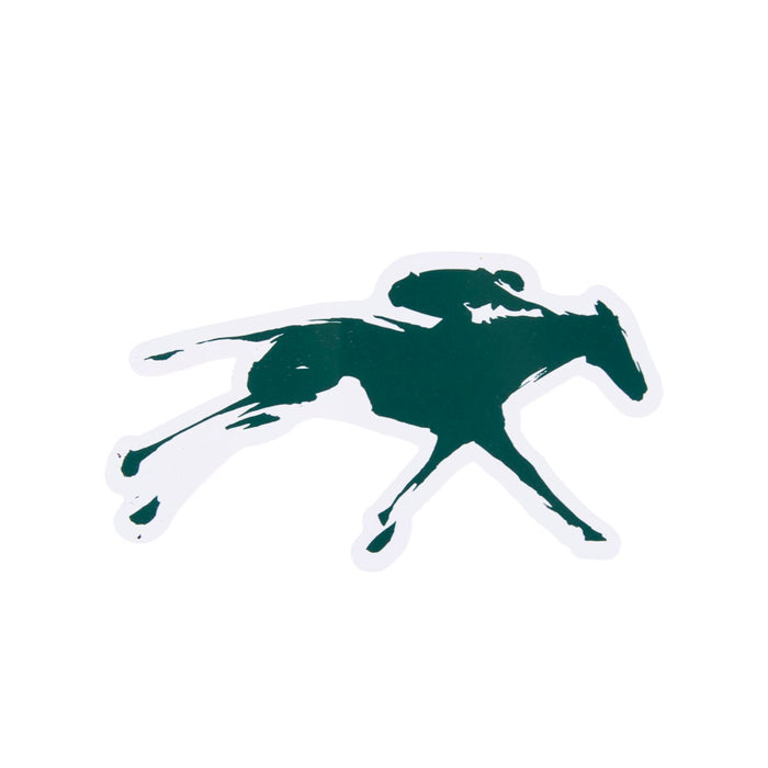Keeneland Horse & Jockey Decal