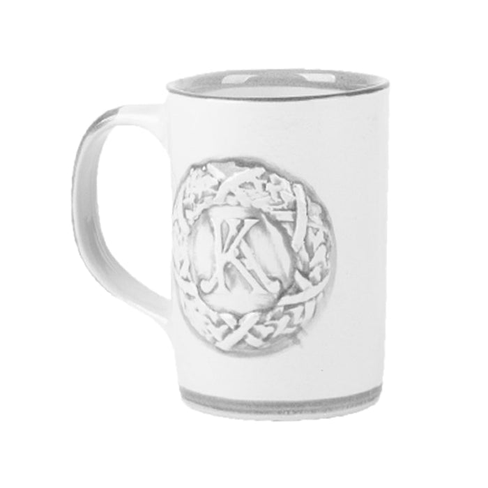 Louisville Stoneware Embossed Wreath Mug