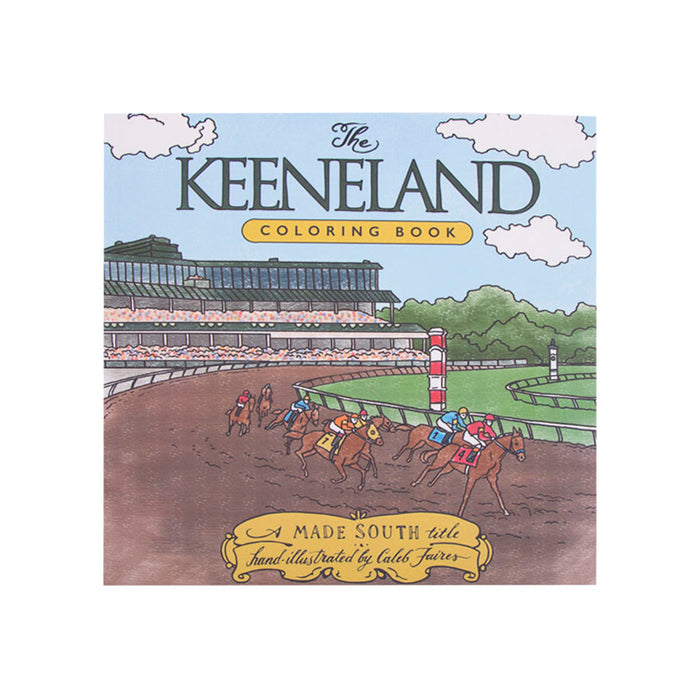 Keeneland Coloring Book