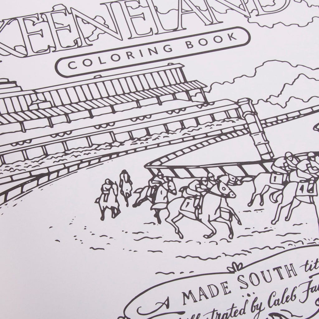 Keeneland Coloring Book – Shop Keeneland
