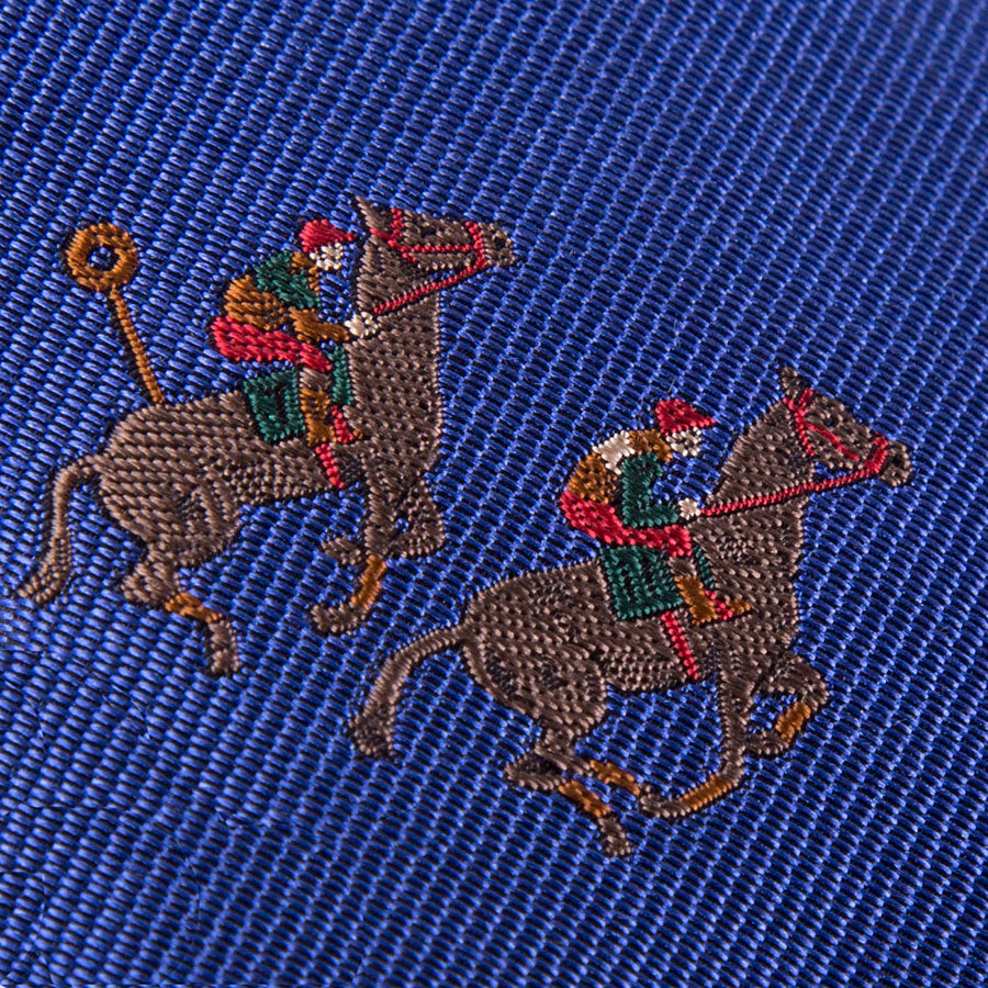 All Over Racing Pair Woven Tie