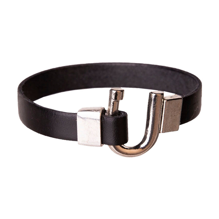 Lela Ray Single Leather Wrap Bracelet