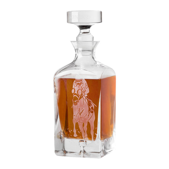Keeneland Racing Decanter
