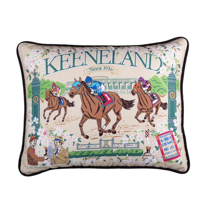 Keeneland Heritage Pillow