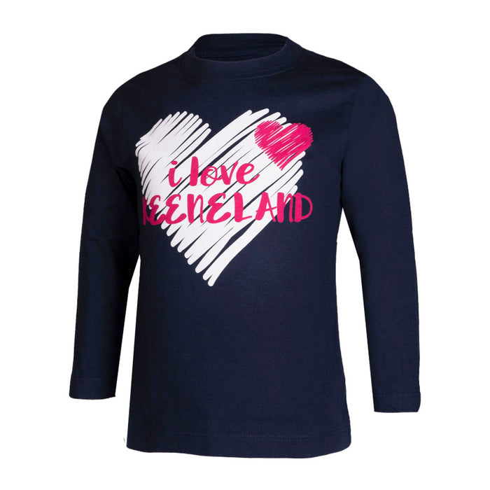Garb Toddler I Love Keeneland Long Sleeve Tee