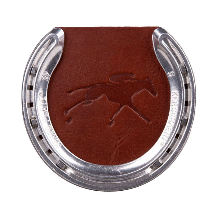 Clayton & Crume Keeneland Leather Horseshoe Coaster