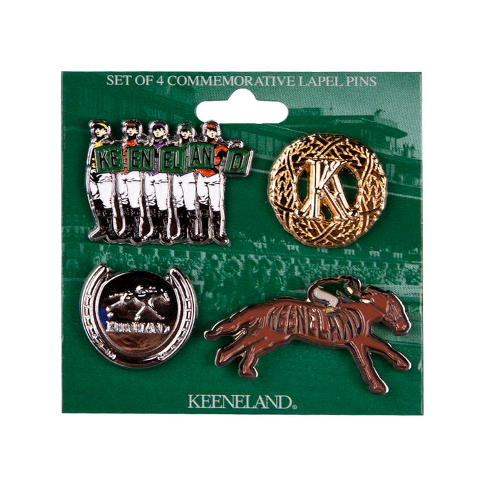 Keeneland Lapel Pin Set