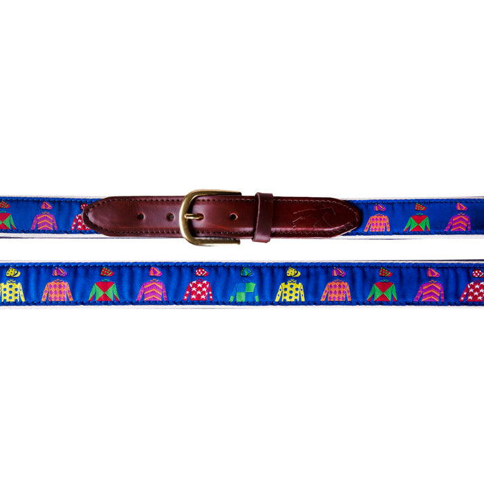 Men's Jockey Silk Ribbon Belt