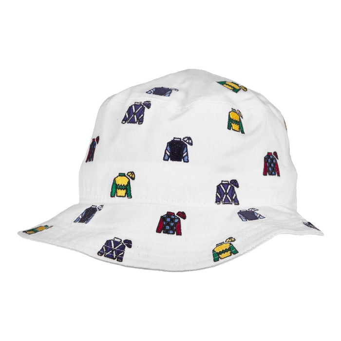 Imperial Keeneland Youth All Over Silks Bucket Hat