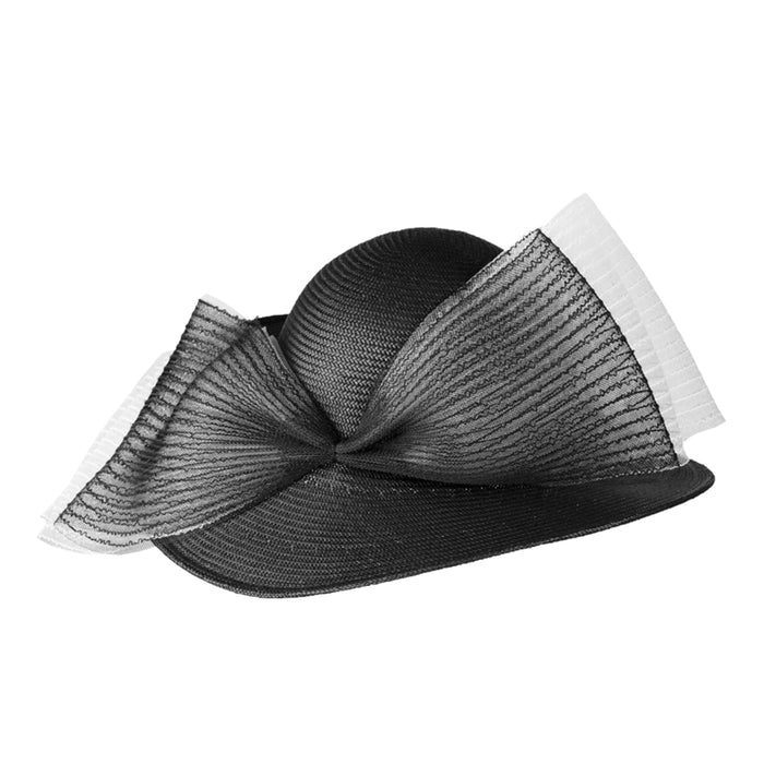 Formé for Keeneland Midnight Toyo Straw Hat