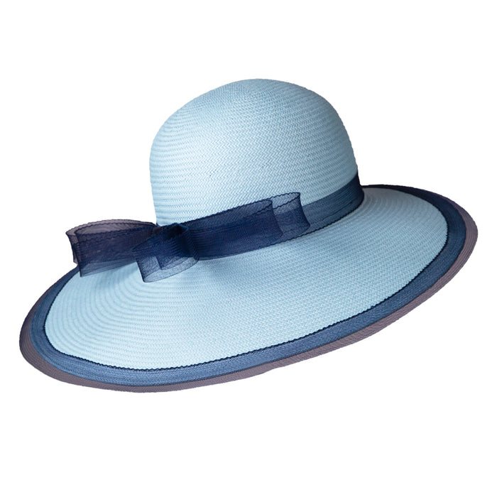 Formé for Keeneland Shade Toyo Straw Hat