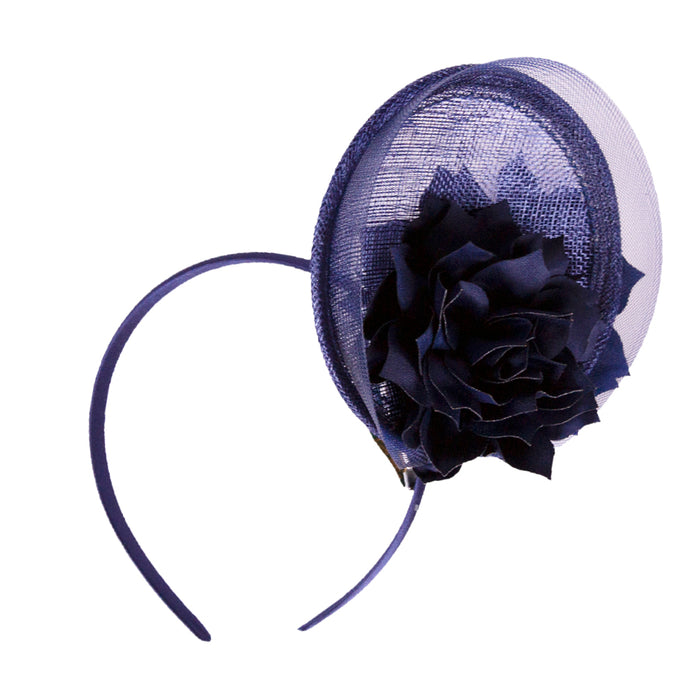 Formé for Keeneland Sky Sinamay Fascinator