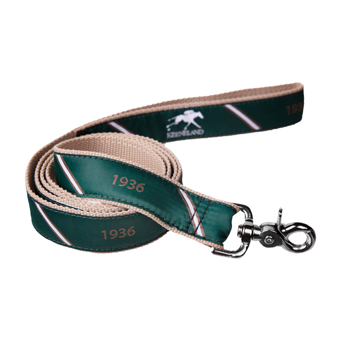 Keeneland Stripe 1936 Ribbon Dog Leash