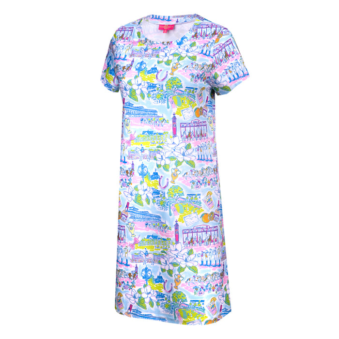 Kaeli Smith Keeneland Life Sierra Dress in Multicolor