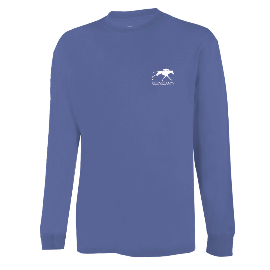 Ahead Keeneland Jockey Silks Long Sleeve Tee