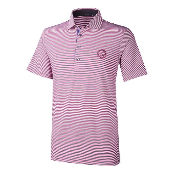 Greyson Keeneland Men's Saranac Striped Polo